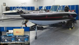 Big Audio for Lund 186GL Boat of Minnesota Lake
