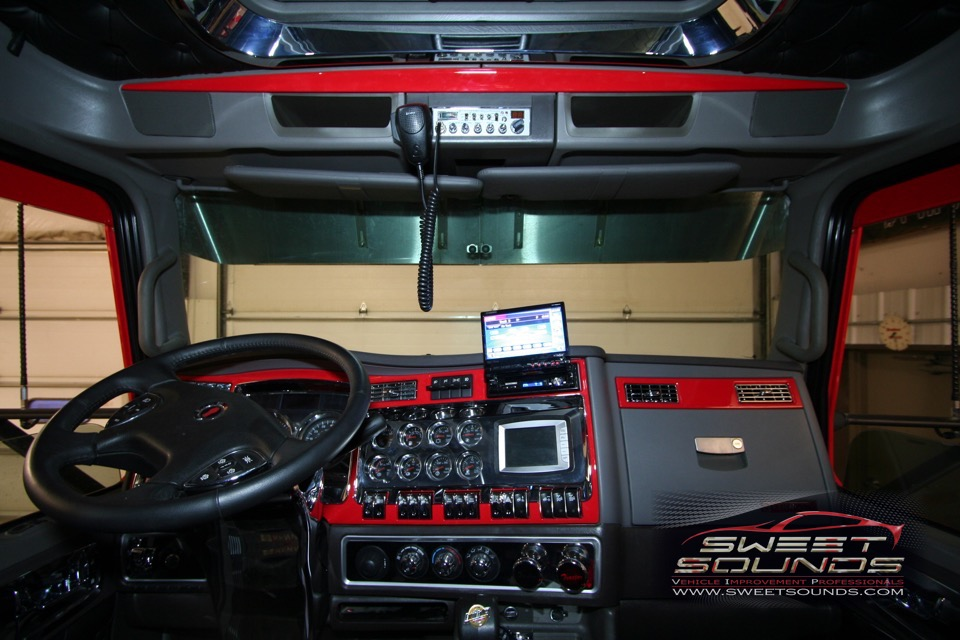 Kenworth T660 Semi Car Audio Sweet Sounds