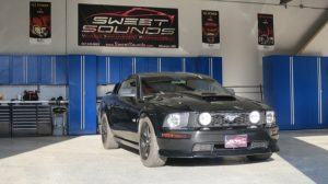 Interior and Exterior Ford Mustang LED Lighting for Owatonna Client