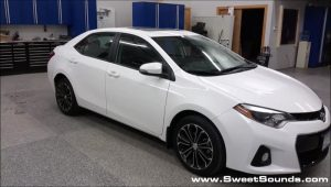 Sweet Sounds Saves Toyota Corolla Remote Starting System Installation