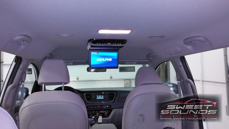 Kia Sedona Rear Seat Entertainment Systems Sweet Sounds