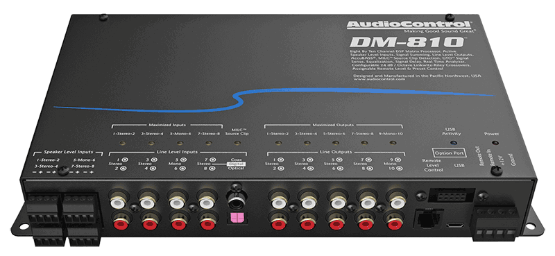 Product Spotlight: AudioControl DM-810 Digital Signal Processor