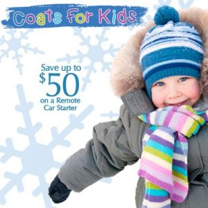 Coats for Kids Promotion, Now Until Thanksgiving at Sweet Sounds