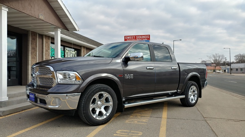 Repeat St. Peter Client Upgrades Ram 1500 Audio System